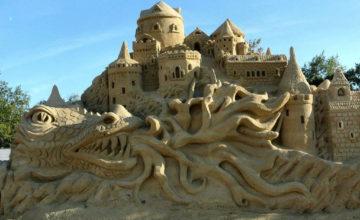 Фестивал на пясъчните скулптури в Бургас